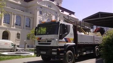 Kran- und Materialtransporte von Zacharias Transport & Erdbau GmbH in der Steiermark