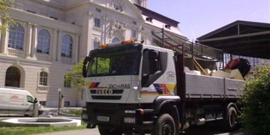 Zacharias Transporte – Spezialist für Kran- und Materialtransporte