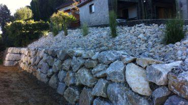 Steinmauern von Zacharias Transport & Erdbau GmbH in der Steiermark